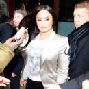Demi Lovato – Leaves her hotel in NYC - 454 x 558