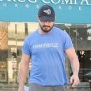 Shia LaBeouf was spotted leaving a studio in West Hollywood, California on January 8, 2016 - 451 x 600