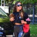 Olivia Culpo looks sporty in Woodland Hills