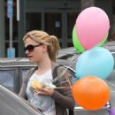 Anna Paquin - Out And About With Some Balloons In Santa Monica, May 23, 2010
