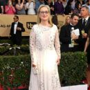 Meryl Streep wears Valentino Dress : 23rd Annual Screen Actors Guild Awards