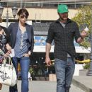 Justin Timberlake And Jessica Biel Leaving The UCLA Medical Center