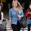 DEBBY RYAN Arrives at LAX Airport in Los Angeles - 454 x 770