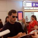Henry Cavill Japan airport arrival MI6 premiere