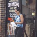 Frankie Bridge spotted in London - 454 x 739