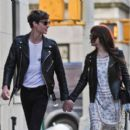 Dakota Johnson out in New York with Matt Hitt (May 1, 2016)