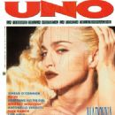 Madonna - Uno Magazine Cover [Italy] (May 1990)