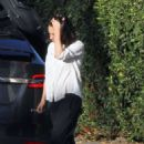 Mila Kunis – Running errands in Los Angeles