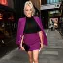 Katie McGlynn – Heads out celebrating her birthday at BLVD in Manchester - 454 x 670