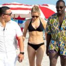 Ellie Goulding – In Bikini on the beach in Miami