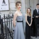 Louise Bourgoin – Arriving at Vogue Dinner Party in Paris - 454 x 681