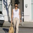 Olivia Munn Out In Beverly Hills