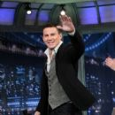 "Channing Tatum making an appearance on ""Late Night with Jimmy Fallon"" (June 28)"
