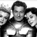 "Danny Kaye with Angela Lansbury and Glynis Johns in ""The Court Jester"" (1955)"