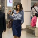 Katie Holmes Arrives in Montreal - 454 x 615