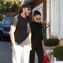 Jordana Brewster with her husband Shopping in Brentwood - 454 x 681