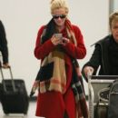Jenny McCarthy seen arriving to LAX International Airport Los Angeles CA January 10,2015