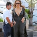 Mariah Carey Out In St Barts