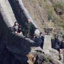 Kit Harington and Liam Cunningham- Filming 'Game of Thrones' in Belfast, September Oct 21 | On Set