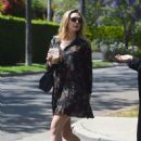 Elizabeth Olsen – Gets Iced Coffee With Her Friend in West Hollywood 05/16/2017
