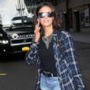 Nina Dobrev – Leaves The Late Show with Stephen Colbert in NYC