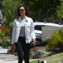 Nina Dobrev – Heads to lunch in Los Angeles July 4, 2017