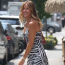 Kelly Bensimon in Summer Dress – Out in New York - 454 x 594