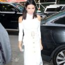 Jenna Dewan Tatum in White Dress out in New York City - 454 x 667