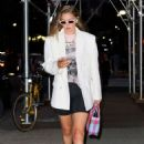 Gigi Hadid – Spotted heading to dinner in NY