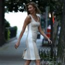 Karlie Kloss In Tight Dress Out In New York City