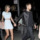 Taylor Swift In White Mini Dress Night Out In Nyc