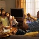 Left to Right: Annette Benning as Karen, Elpidia Carrillo as Sofia, Simone Lopez as Crist, and Jimmy Smits as Paco. Photo taken by Ralph Nelson © 2009, Courtesy of Sony Pictures Classics. All rights reserved. - 454 x 302