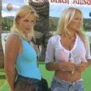 Pamela Anderson and Gena Lee Nolin in Twentieth Century Fox's Baywatch: Hawaiian Wedding - 2003
