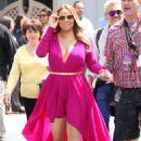 Mariah Carey At Live With Kelly and Michael At Disneyland