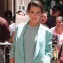 Evangeline Lilly at The View in New York - 454 x 681
