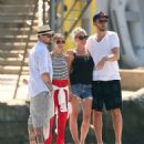 Nicole Richie and Joel Madden: Out on the Water in the South of France - 454 x 538