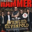 M. Shadows, Synyster Gates, Arin Ilejay, Johnny Christ, Zacky Vengeance - Metal&Hammer Magazine Cover [Spain] (December 2013)