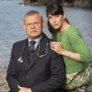Martin Clunes and Caroline Catz