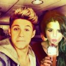 Selena Gomez and Niall Horan