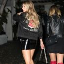 Charlotte McKinney at Chateau Marmont in Los Angeles