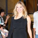 Kate Upton heads out to dinner at Catch in New York City