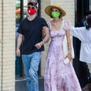 Maya Hawke and Tom Sturridge walk arm-in-arm through New York City on Sunday after grabbing dinner - 454 x 544