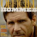 Harrison Ford - L'Officiel Hommes Magazine Cover [France] (September 1984)