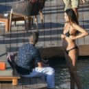 April Love Geary in Bikini Photoshoot in St. Barts - 454 x 303