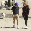 Shia LaBeouf and his new wife, Mia Goth, spend the day at the dog park in Studio City, California on October 15, 2016 - 454 x 446