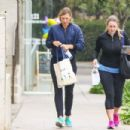 Maria Sharapova is seen leaving the gym on January 10, 2017