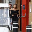 Stephanie Davis at Elstree Studios in Hertfordshire - 454 x 590