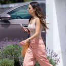 Jordana Brewster – Out in Brentwood - 454 x 681