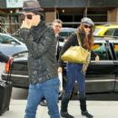 Nina Dobrev and Ian Somerhalder were spotted arriving at the Trump Hotel in New York City yesterday, October 1