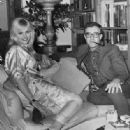 Britt Ekland and Peter Sellers